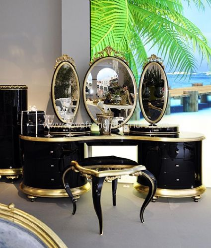 Venezia Dressing Table and Mirror